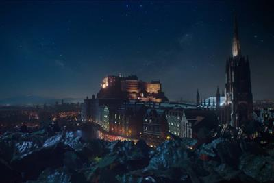Edinburgh Gin sends meteors flying in debut TV campaign