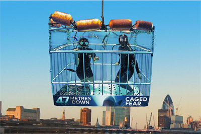 Entertainment One stages shark-themed stunt for latest film