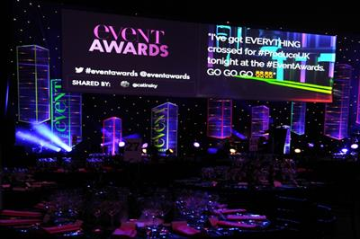 Blog: A night at the Event Awards 2016