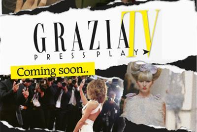 Bauer Media prepares for online launch of Grazia TV