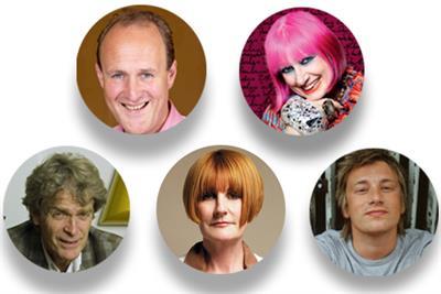 Where do Jamie Oliver, Mary Portas and Sir John Hegarty get creative inspiration?