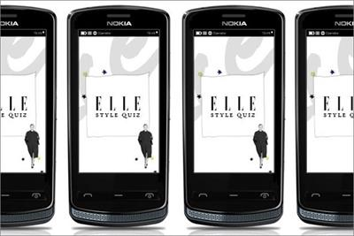 Elle magazine creates app and campaign for Nokia 700