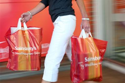 Sainsbury's grocery market share rises to highest level in almost a decade
