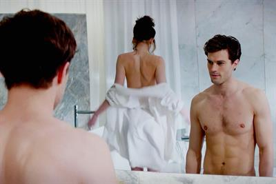 Cinema advertisers cashing in as Fifty Shades of Grey whips box office into frenzy