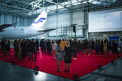 Finnair and Helsinki airport team up for short movie