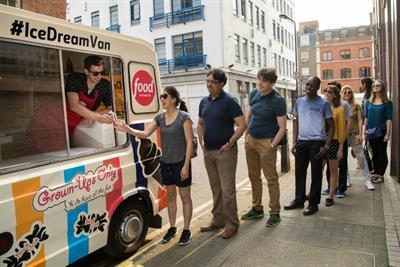 In pictures: Food Network's Ice Dream van