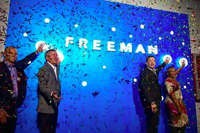 FreemanXP expands into Singapore and China