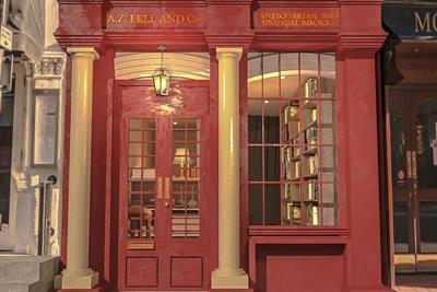 Amazon Prime creates fictional bookshop to promote Good Omens