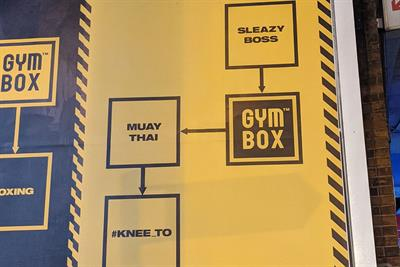 Turkey of the Week: Gymbox turns sexual harassment into a joke
