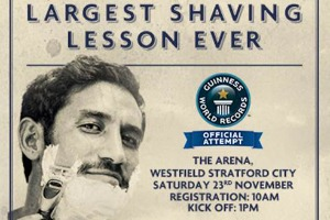 Haygarth hosts hair-raising record attempt with Gillette