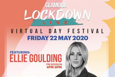 Glamour invites readers to lockdown festival