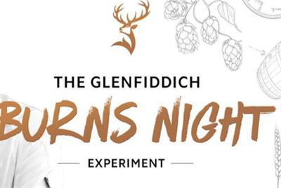 Glenfiddich to stage Burns Night 'experiment'