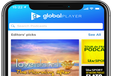 ITV and Global form podcast partnership