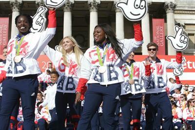 Behind the scenes: Rio 2016 heroes return