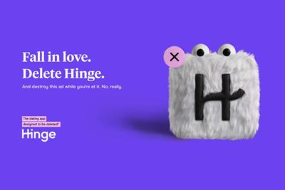 Dating app Hinge tells singles it 'wants to be deleted' in new campaign