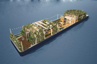 Hoegaarden to launch sensorial East London barge bar