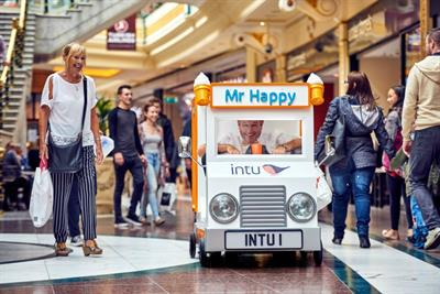 Event TV: Intu unveils mini ice cream van