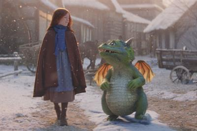 John Lewis and Waitrose's Christmas ad stars overexcited dragon Edgar