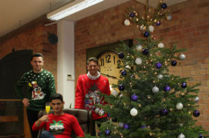 Tribe supports Save the Children Christmas jumper record