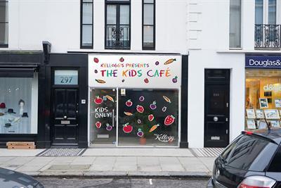 Kellogg opens breakfast cafe run by kids