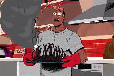 KFC tells turkey horror stories in animated Christmas campaign