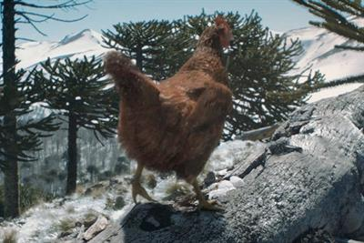 KFC's Western-style Christmas ad puts turkey in its place