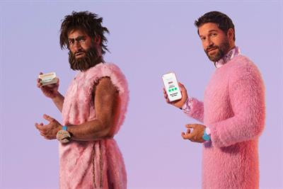 Klarna lampoons 'Neanderthal' credit models in new campaign