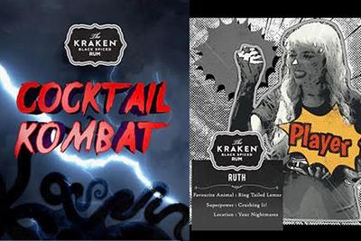 Kraken takes inspiration from Mortal Kombat in bartender cocktail competition