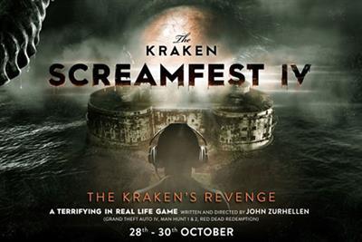 The Kraken creates Halloween gaming experience