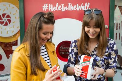 In pictures: Krispy Kreme opens Hole in the Wall pop-up today