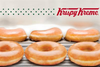 Krispy Kreme tours giant slot machine around Intu centres