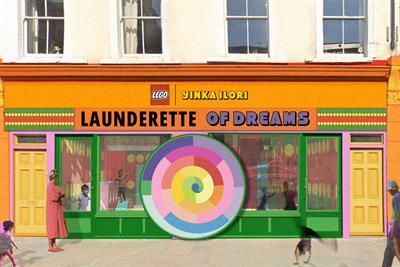 Lego collaborates with artist Yinka Ilori on joyful laundrette