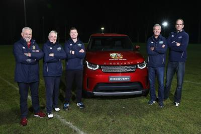Land Rover launches search for grassroots rugby fans