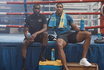 Anthony Joshua inspires a teen to follow his dreams in Lucozade Sport's first documentary