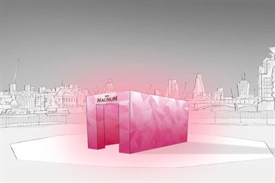 Magnum creates mood-enhancing room inspired by Ruby variant