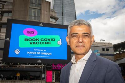 'Vax-cam' campaign for Mayor of London channels basketball to boost vaccine take-up