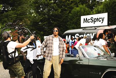 McDonald's new burger McSpicy stars in AJ Tracey music video