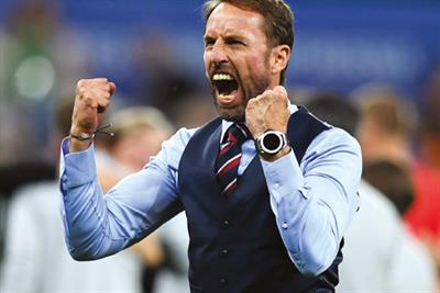 Marks & Spencer cashes in on Southgate waistcoat fever with newspaper and outdoor ads