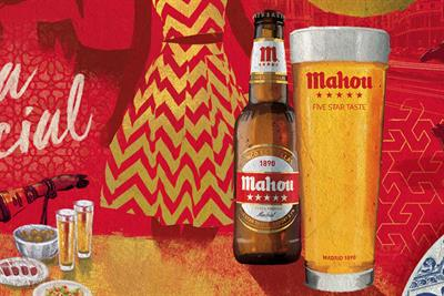 Spanish lager Mahou creates Madrid-themed experiences