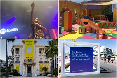 Snap, Spotify and Activision dominate experiences at Cannes Lions 2019