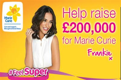 P&G and Superdrug stage salon pop-up for Marie Curie
