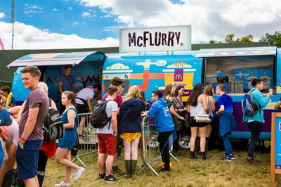 In pictures: McDonald's, Boots and Smirnoff at V Festival 2016