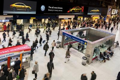 JCDecaux reappointed to £280m Network Rail ad contract
