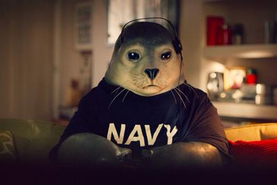 Virgin Media introduces a game-loving seal in its latest TV campaign