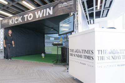News UK to activate rugby simulator at Canary Wharf