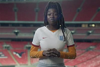 Nike pays tribute to female footballers' passion in debut work by Uncommon