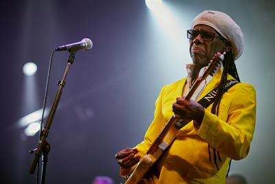 Music legend Nile Rodgers strums up business with brands and data