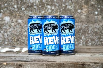Orchard Pig tackles train delays with cider giveaway