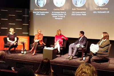 McDonald's CEO defends role of account managers in Oystercatchers panel