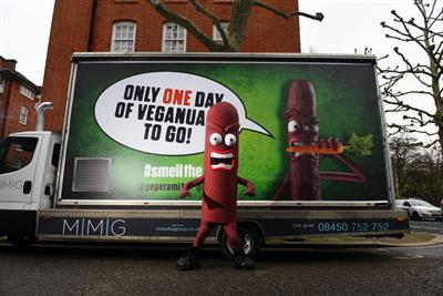 Peperami taunts temporary vegans with scent of meat on last day of Veganuary